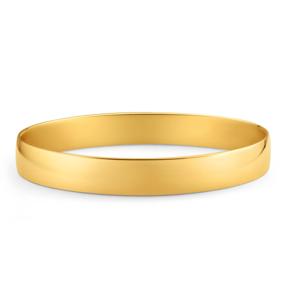 9ct Enticing Yellow Gold Bangle