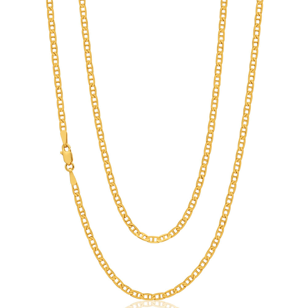 9ct Yellow Gold Anchor Chain