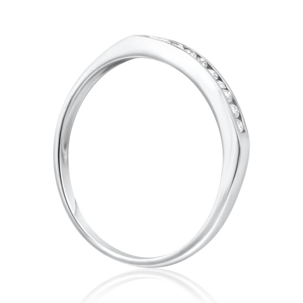 9ct White Gold Divine Diamond Ring