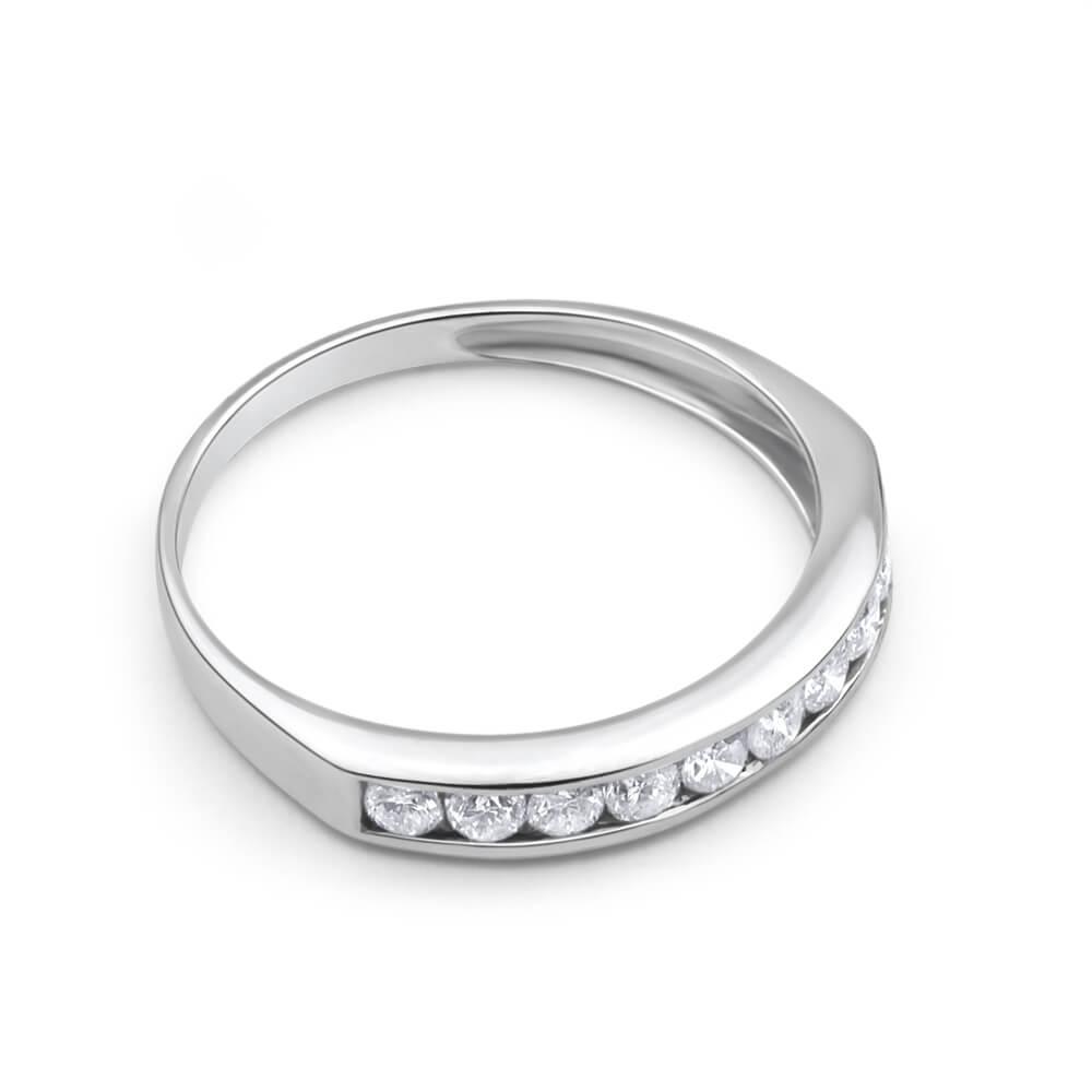 9ct White Gold Exquisite Diamond Ring