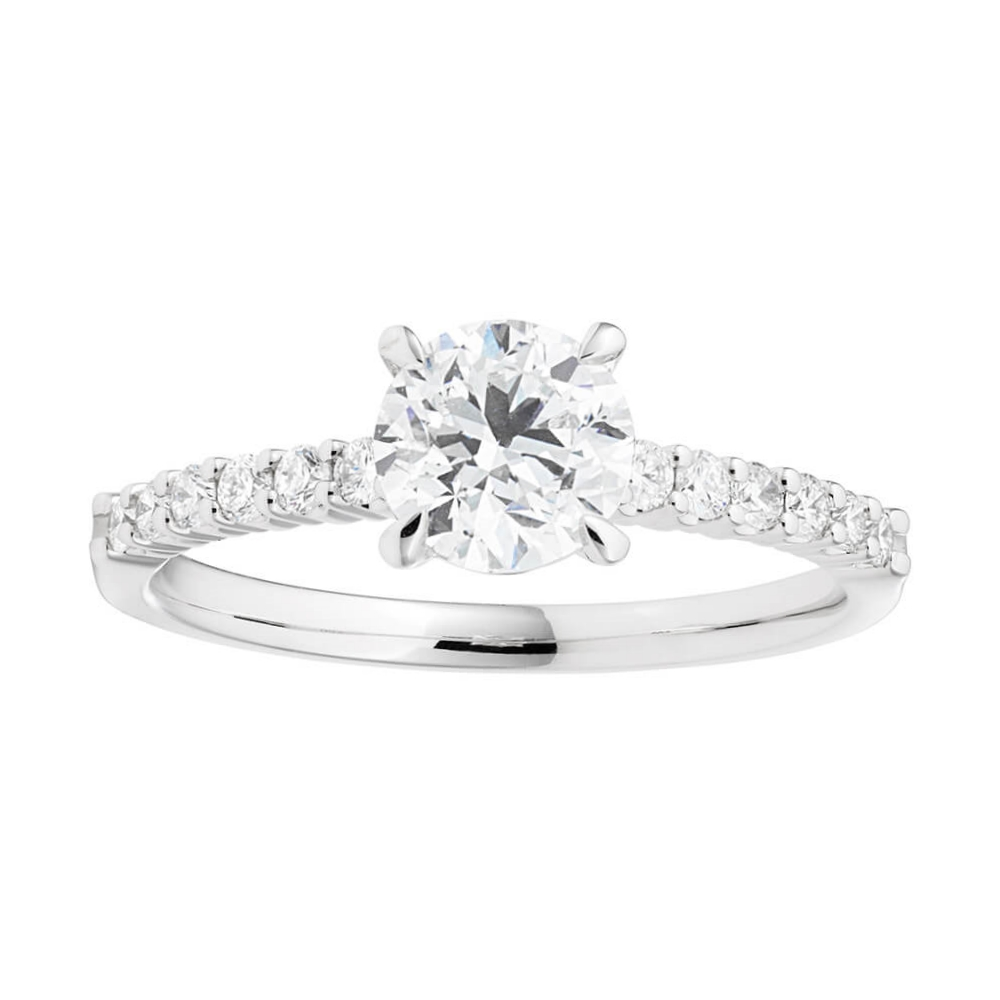 18ct White Gold 'Serena' Ring With 1.2 Carats Of Diamonds