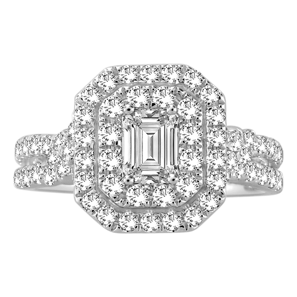 """""""Seline"""" 14ct White Gold Ring with 1.50 Carat of Diamonds"""