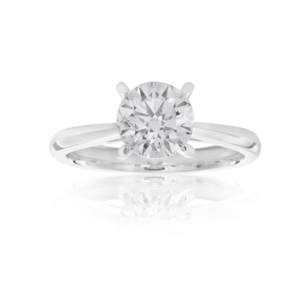 Luminesce Laboratory Grown 1 Carat Diamond Ring in 18ct White Gold