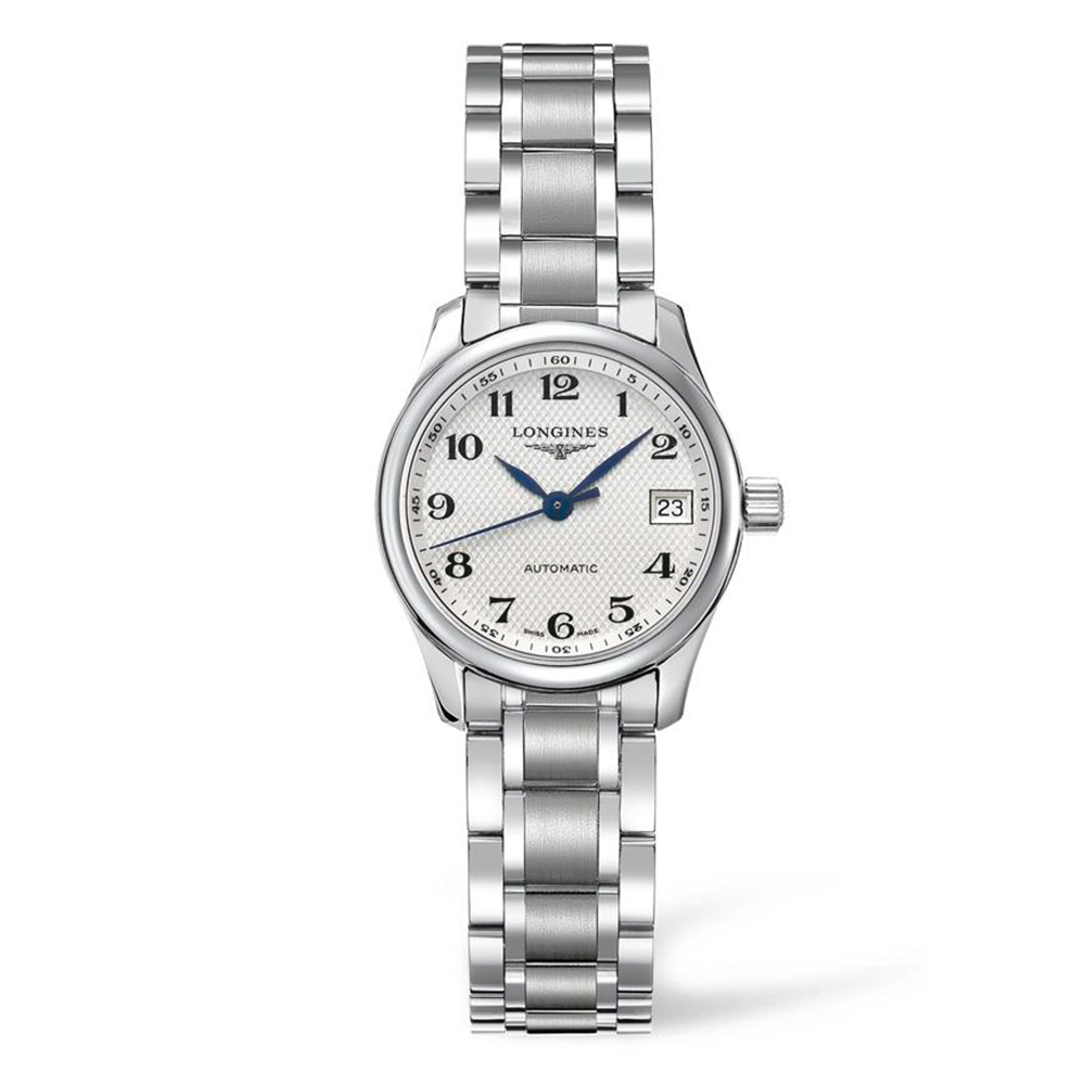 Longines Master Collection L21284786 Silver Stainless Steel Womens Watch