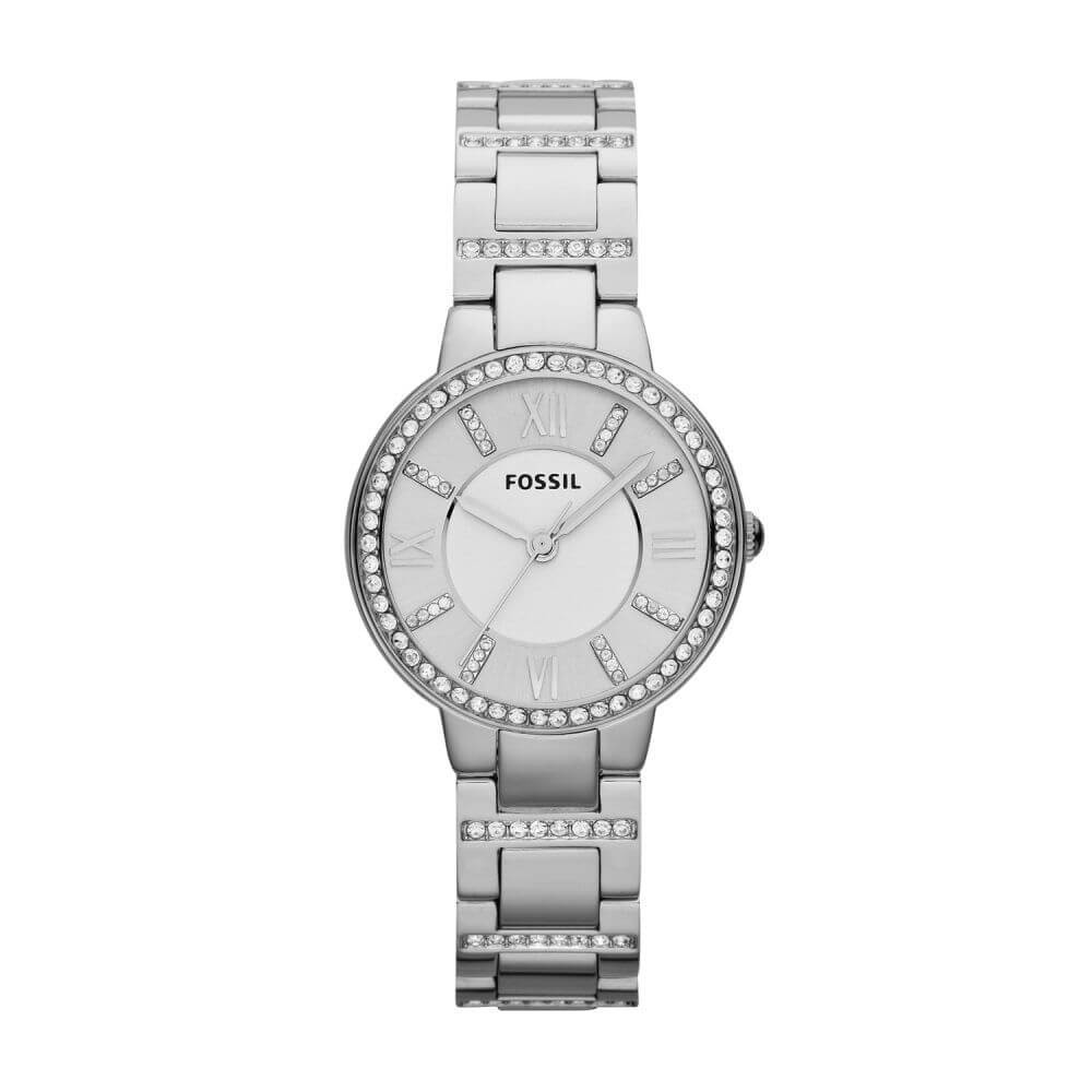 Fossil 'Virginia' ES3282 Ladies Stone Set Watch