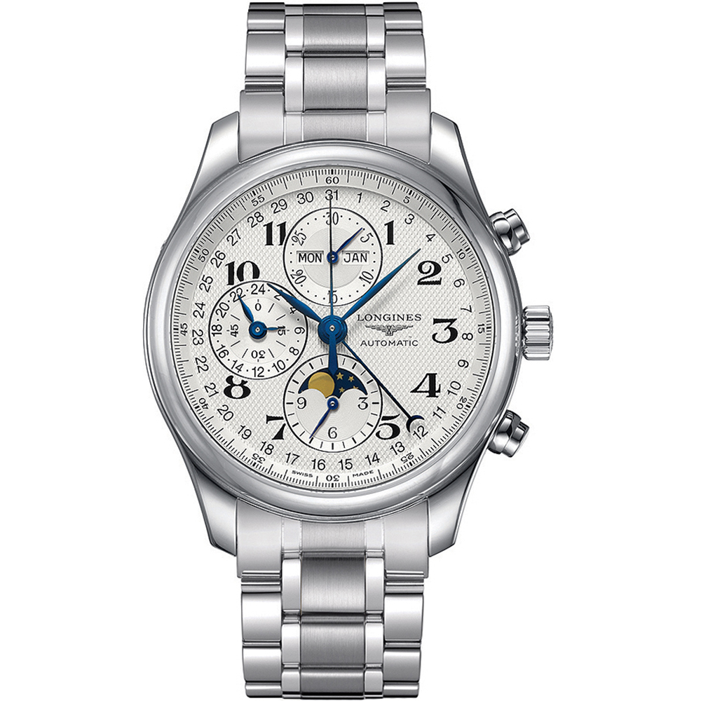 Longines Master Collection L26734786 Silver Stainless Steel Mens Watch