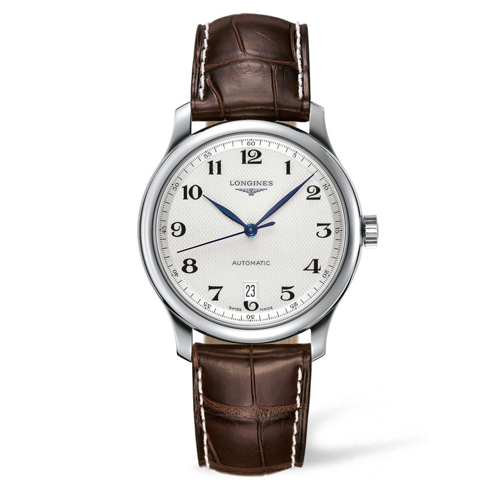 Longines Master Collection L26284783 Brwon Leather Mens Watch