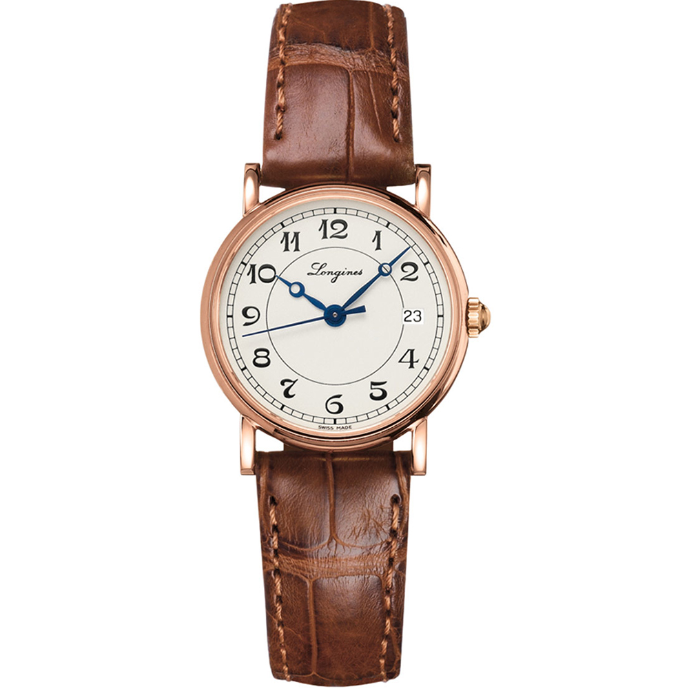 Longines Heritage L42678732 Brown Leather Womens Watch