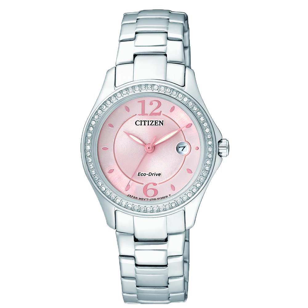 Citizen Eco-Drive FE1140-51X Stone Set Womens Watch