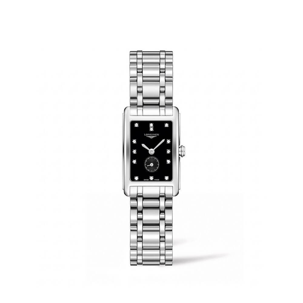 Longines DolceVita L52554576 Silver Stainless Steel Womens Watch