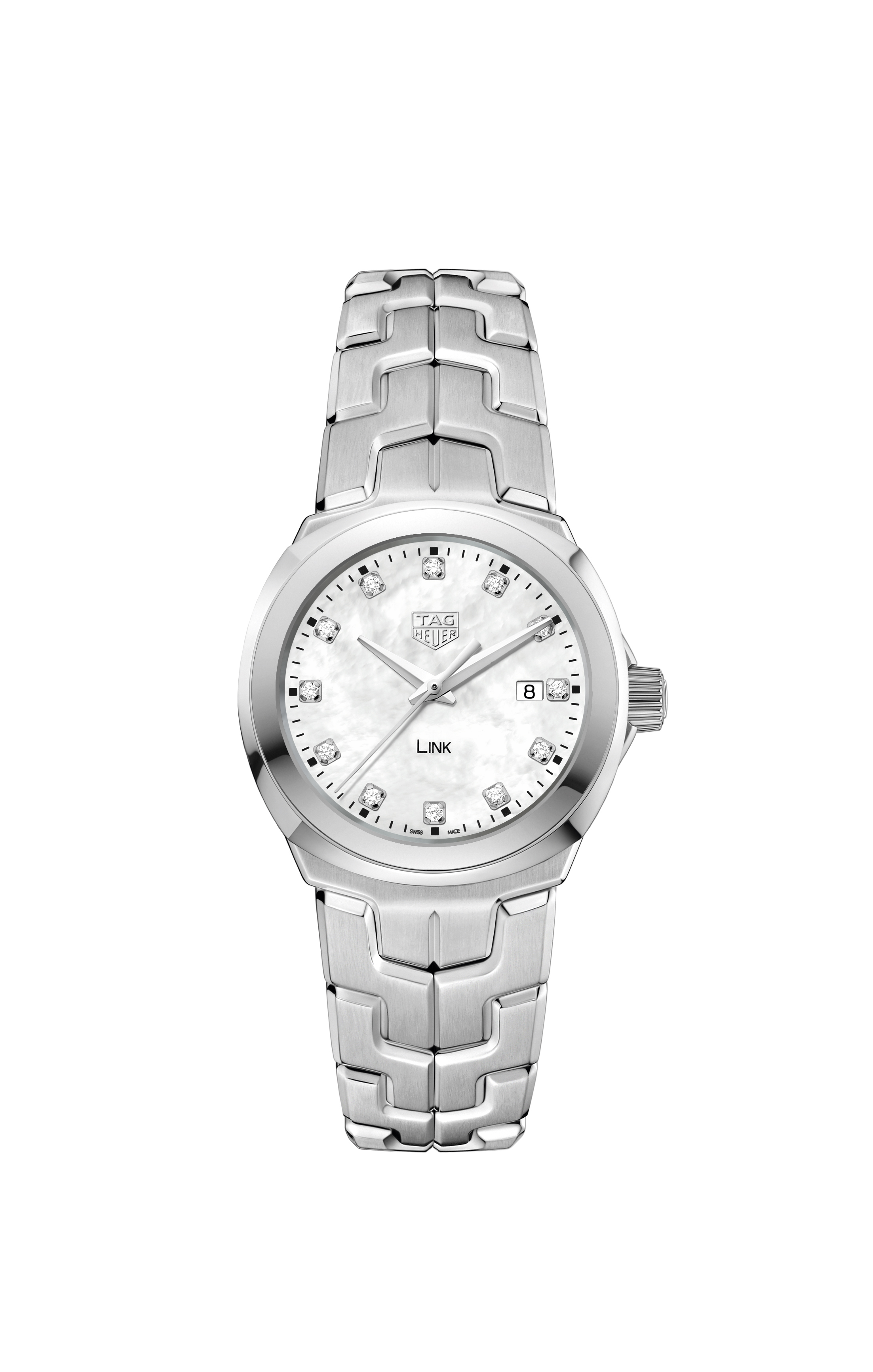 TAG Heuer Link WBC1312BA0600 Diamond Set Womens Watch