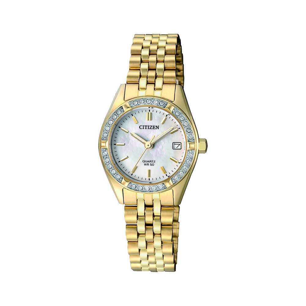 Citizen EU6062-50D Crystal Set Womens Watch