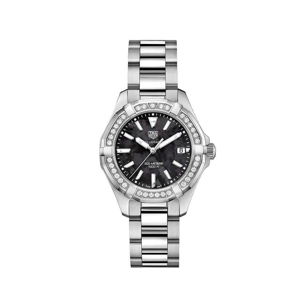 TAG Heuer Aquaracer WAY131PBA0748 Diamond Set Womens Watch