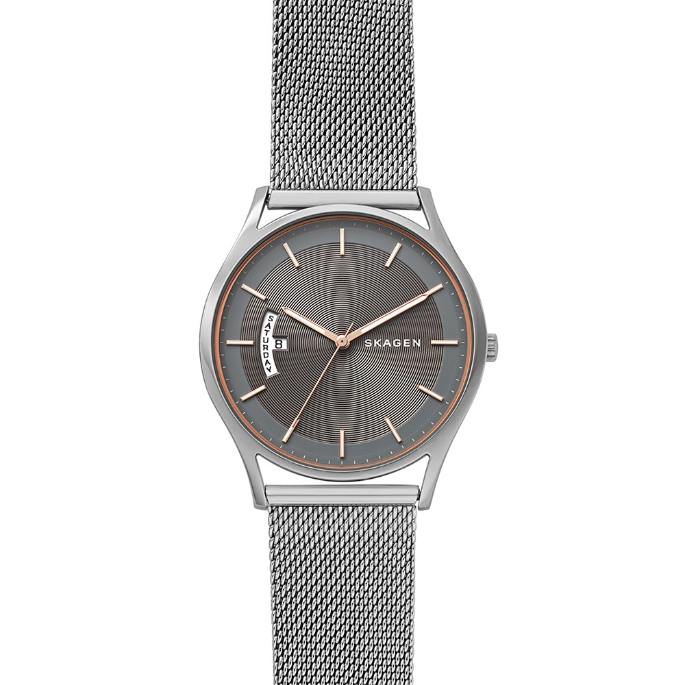 Skagen SKW6396 Gents Taupe Face Stainless Steel Watch