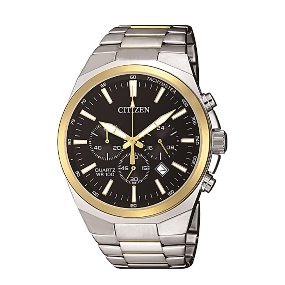 Citizen AN817458E Stainless Steel Two Tone Mens Watch