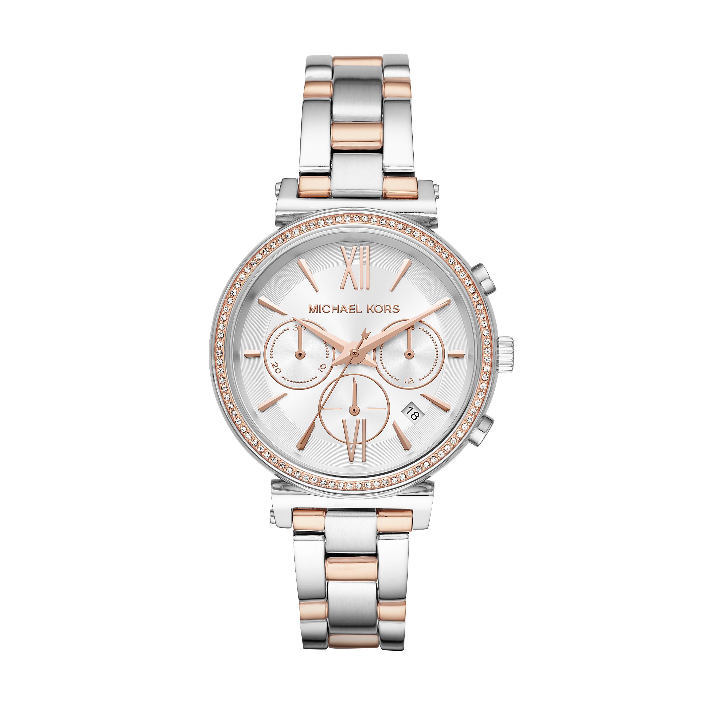 Michael Kors MK6558 Stainless Steel Ladies Two Tone Watch
