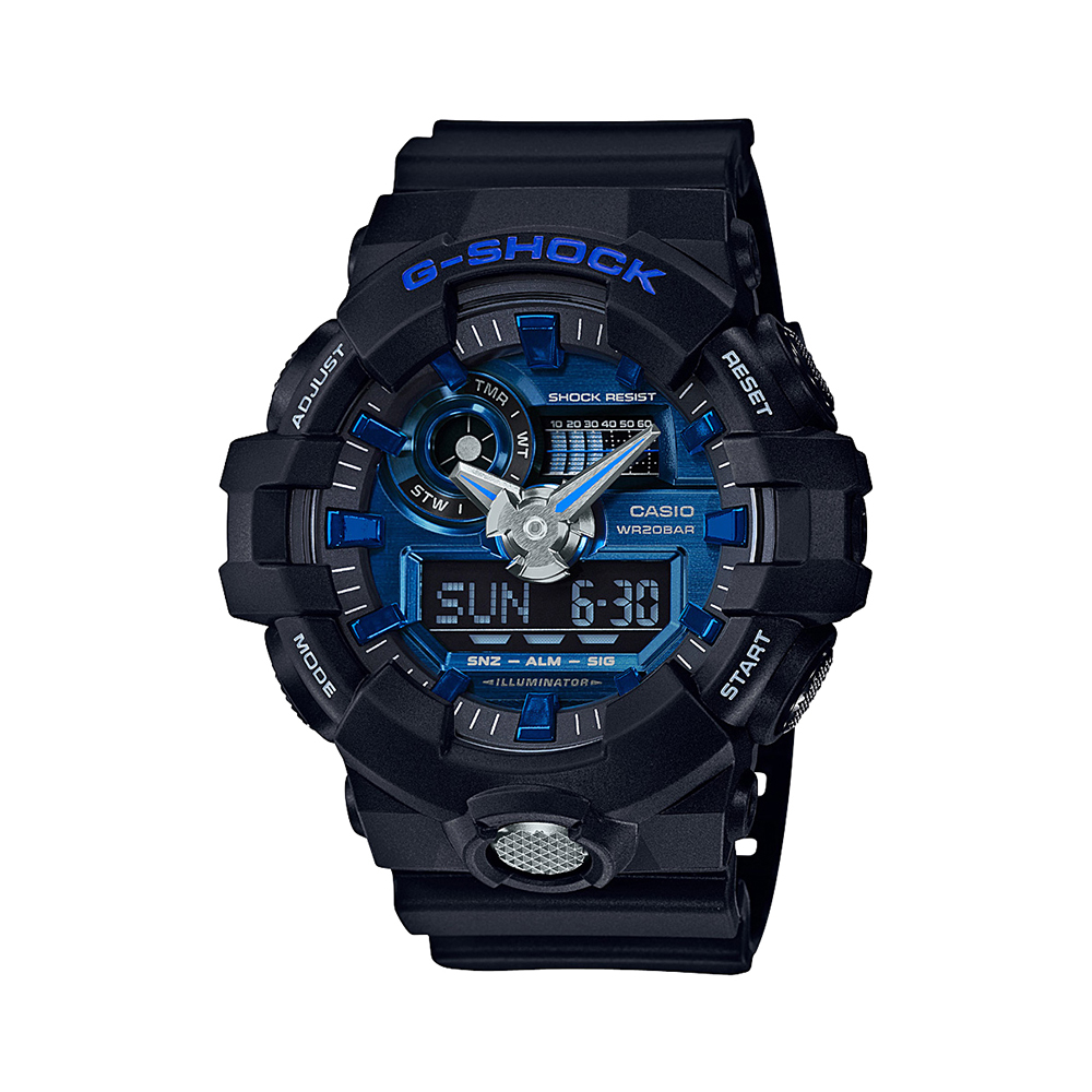 Casio G-Shock GA710-1A2 Black Mens Watch