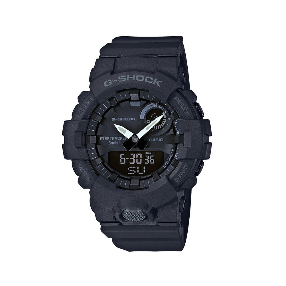 Casio G-Shock GBA800-1A Black Step Tracker Mens Watch