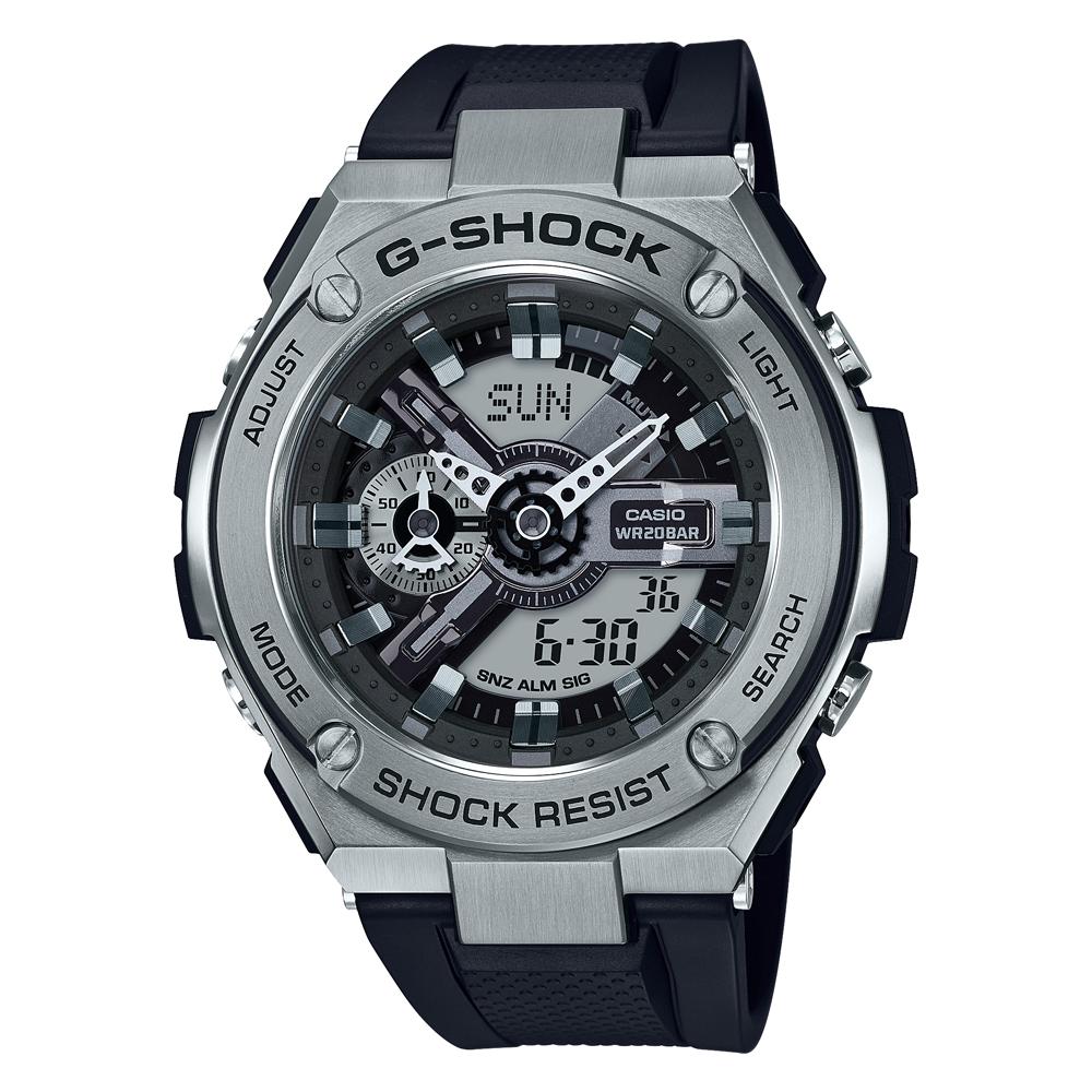 Casio G Steel World Time GST410-1A Mens Watch