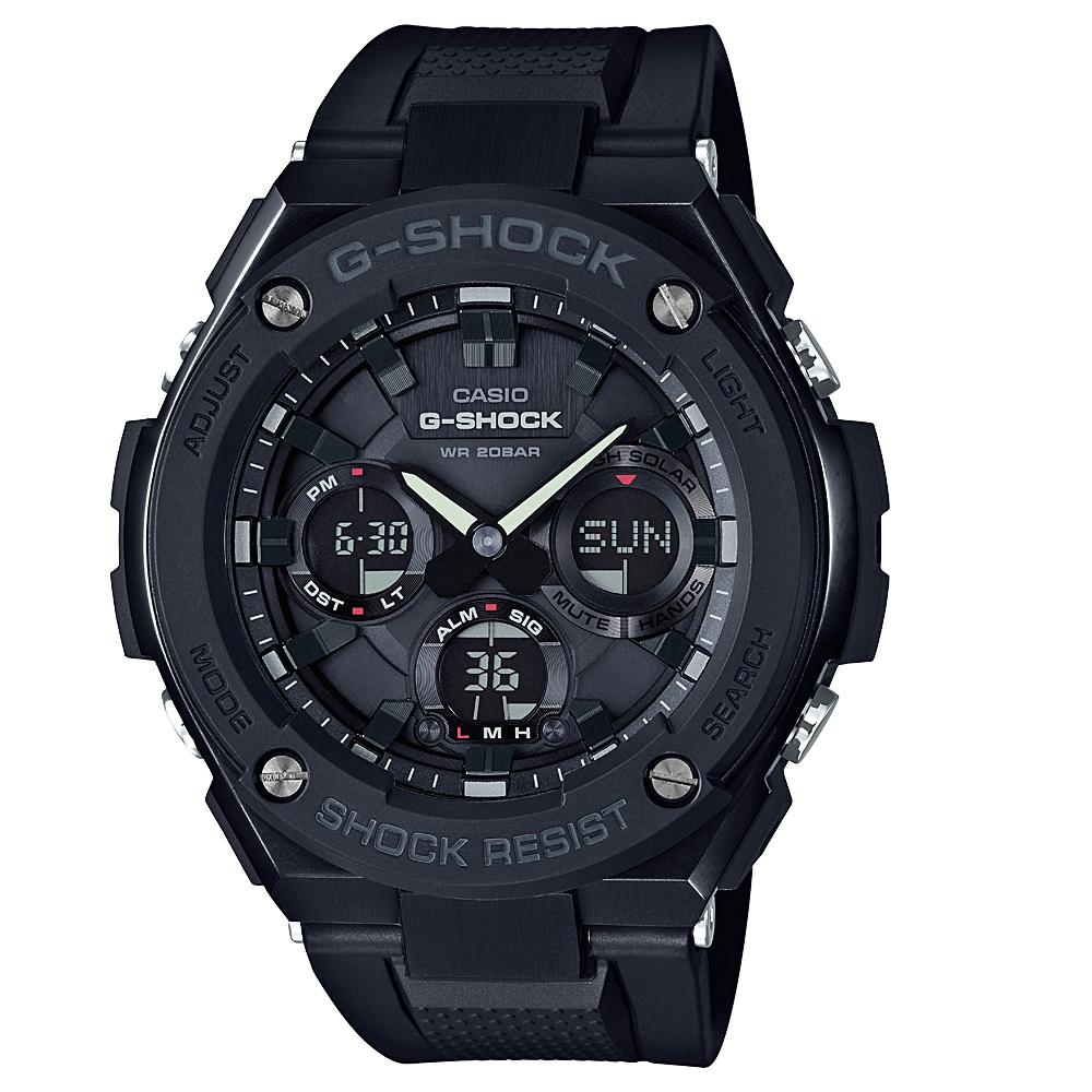 G-Shock G-Steel Solar GSTS100G-1B World Time Mens watch
