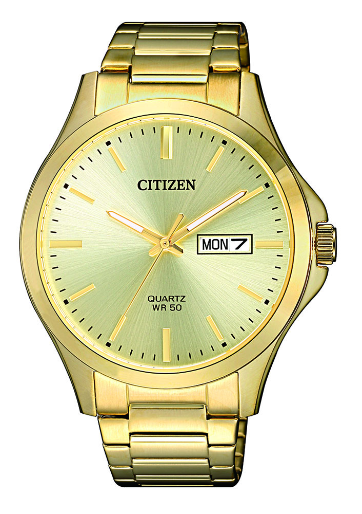 Citizen BF2003-84P Gold Plated Stainless Steel Mens Watch