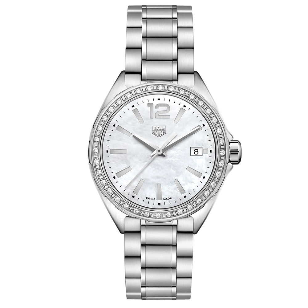 TAG Heuer Formula 1 WBJ131ABA0666 Silver Stainless Steel Womens Watch