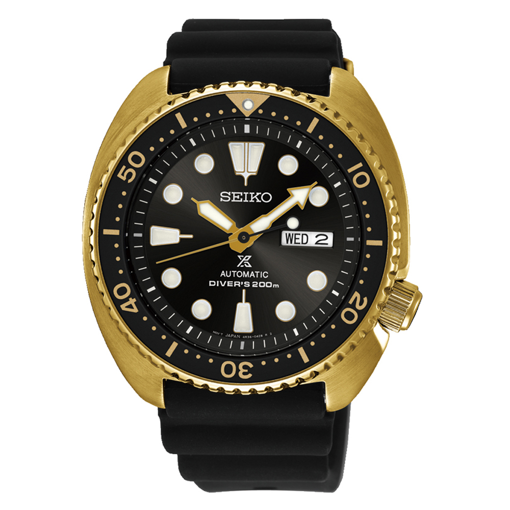 Seiko Prospex Golden Turtle SRPC44P-9 Automatic Divers Mens Watch