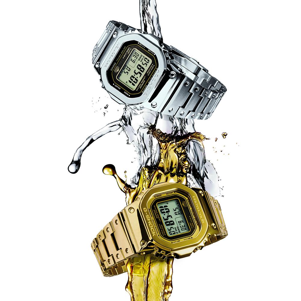 G-Shock GMWB5000-1D Bluetooth Stainless Steel Watch