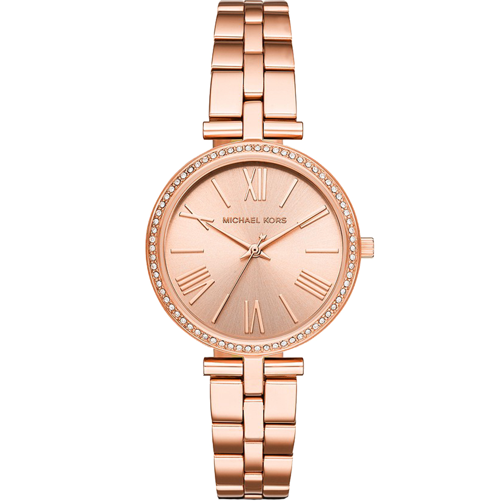 Michael Kors Maci MK3904 Rose-Coloured Stainless Steel Womens Watch