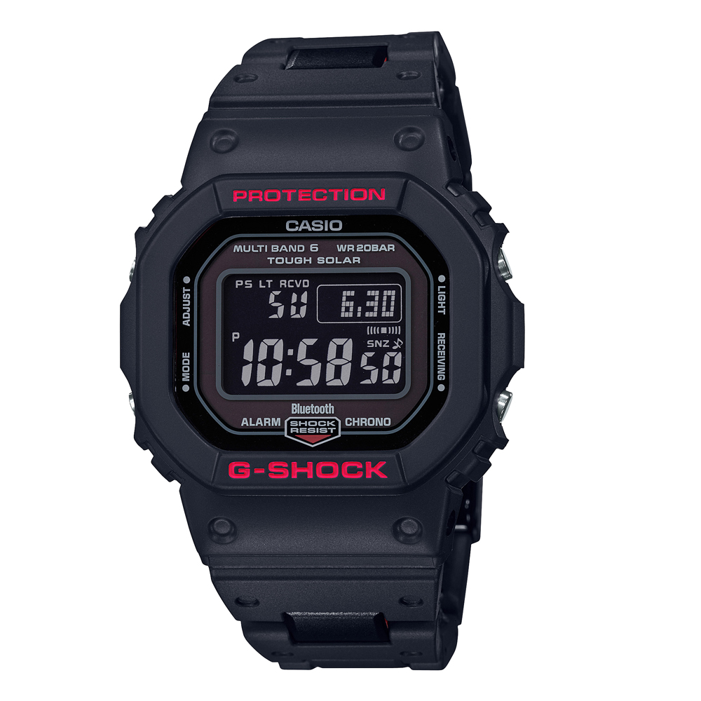 G-Shock GWB5600HR-1D Bluetooth Black Resin Mens Watch