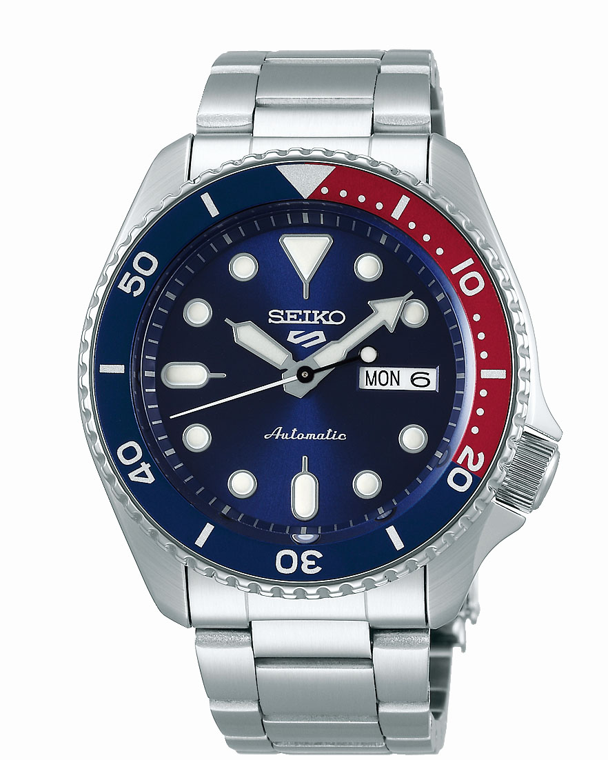 Seiko 5 SRPD53K Automatic Stainless Steel Mens Watch