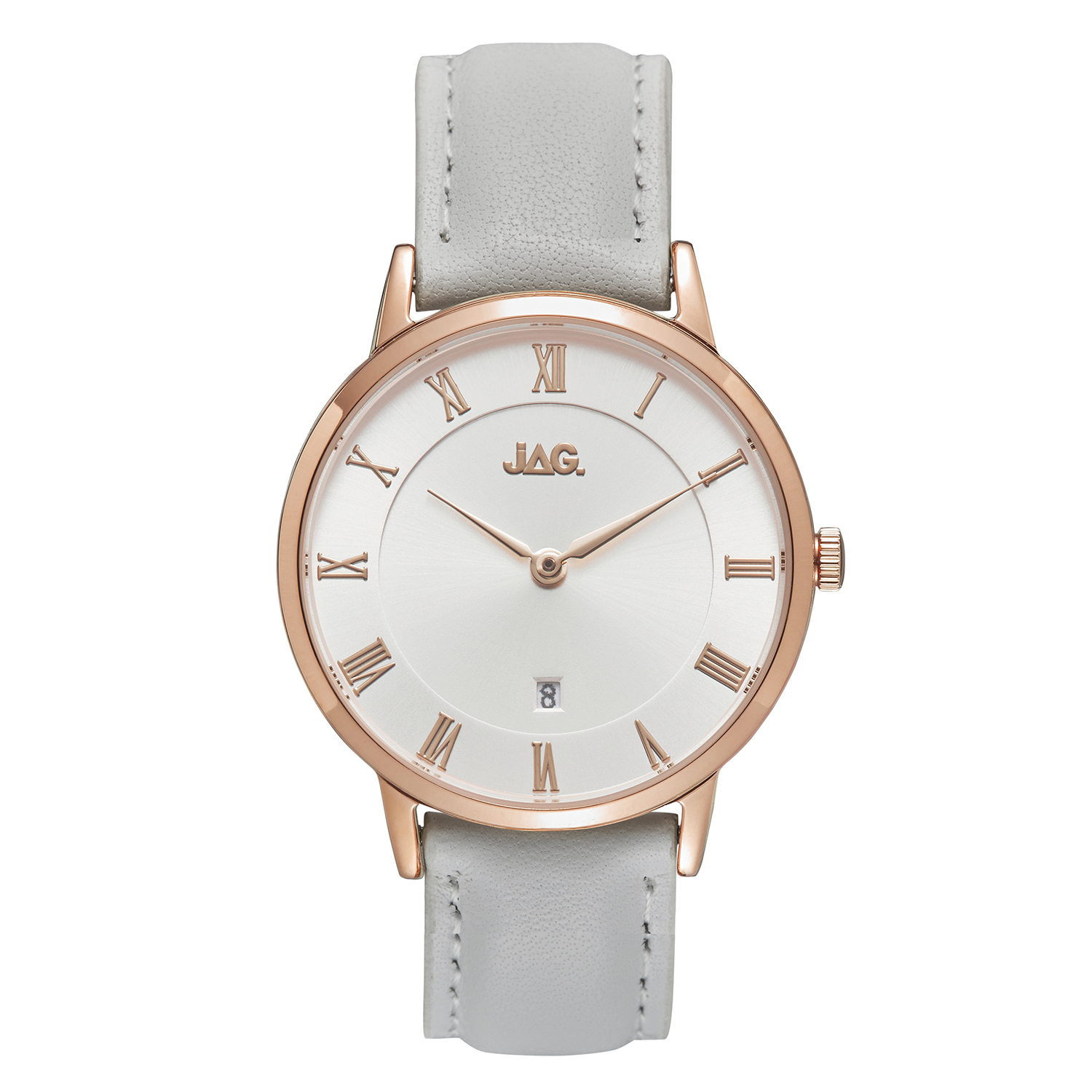 JAG Lola J2265 White Leather Womens Watch