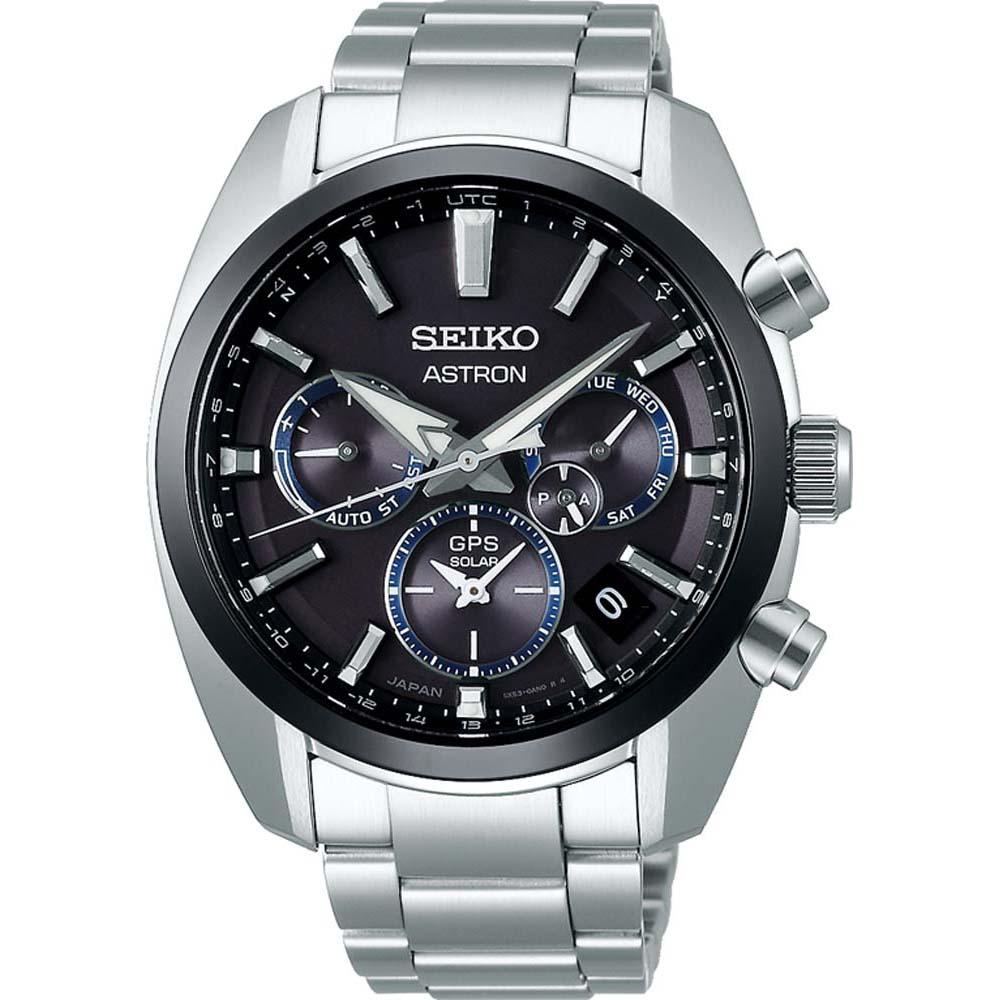 Seiko Astron SSH053J Chronograph Stainless Steel Mens Watch