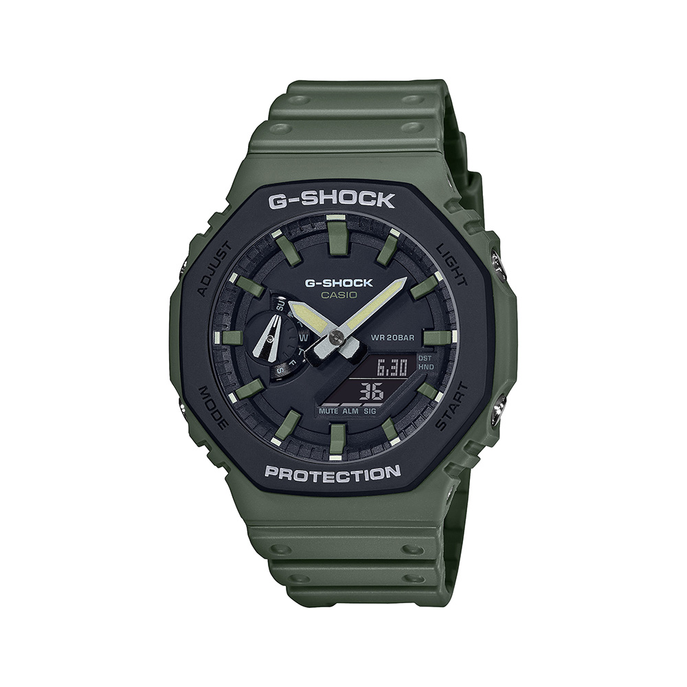 Casio G-Shock Carbon Core Guard GA-2110SU-3ADR Mens Watch