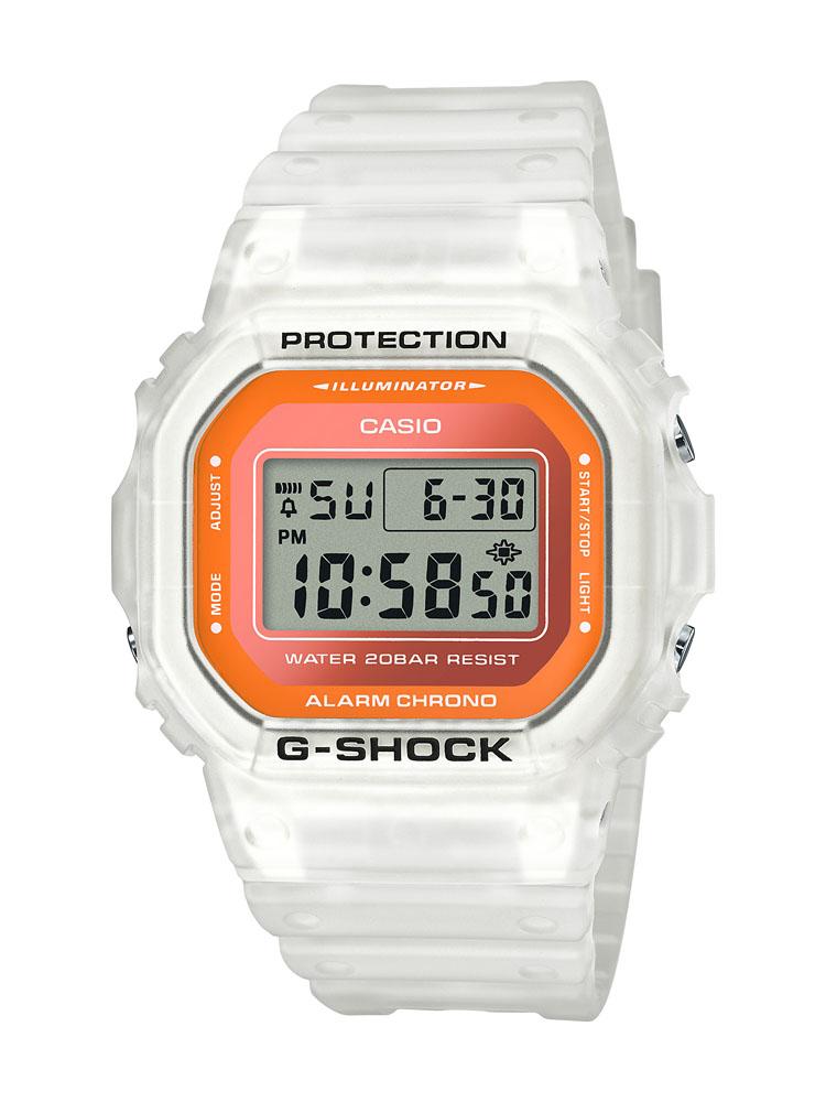 Casio G-Shock DW5600LS-7D Orange White Watch