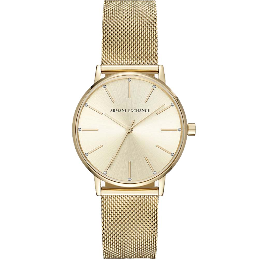 AX5536 Armani Exchange Lola Gold Tone Dress Watch