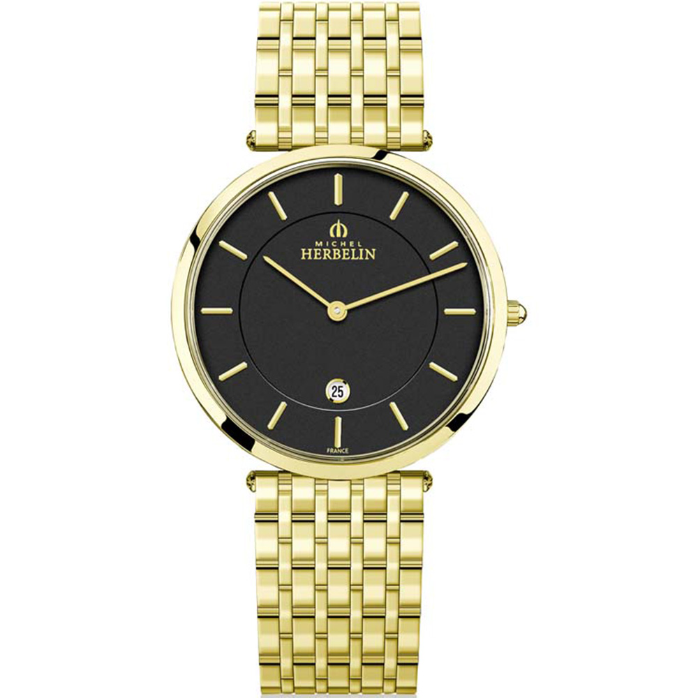 Michel Herbelin Epsilon 19416/BP14 Golden Mens Watch