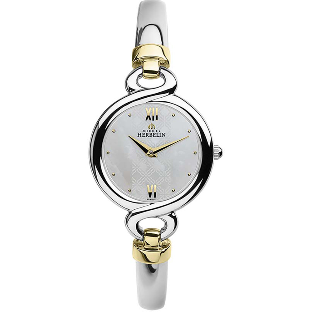 Michel Herbelin Siam 17435/BT19  Womans Silver Watch