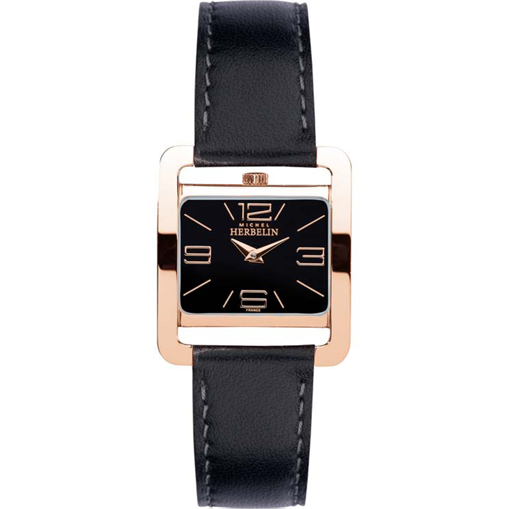Michel Herbelin 5EME Avenue 17137/PR14 Womens Black Watch