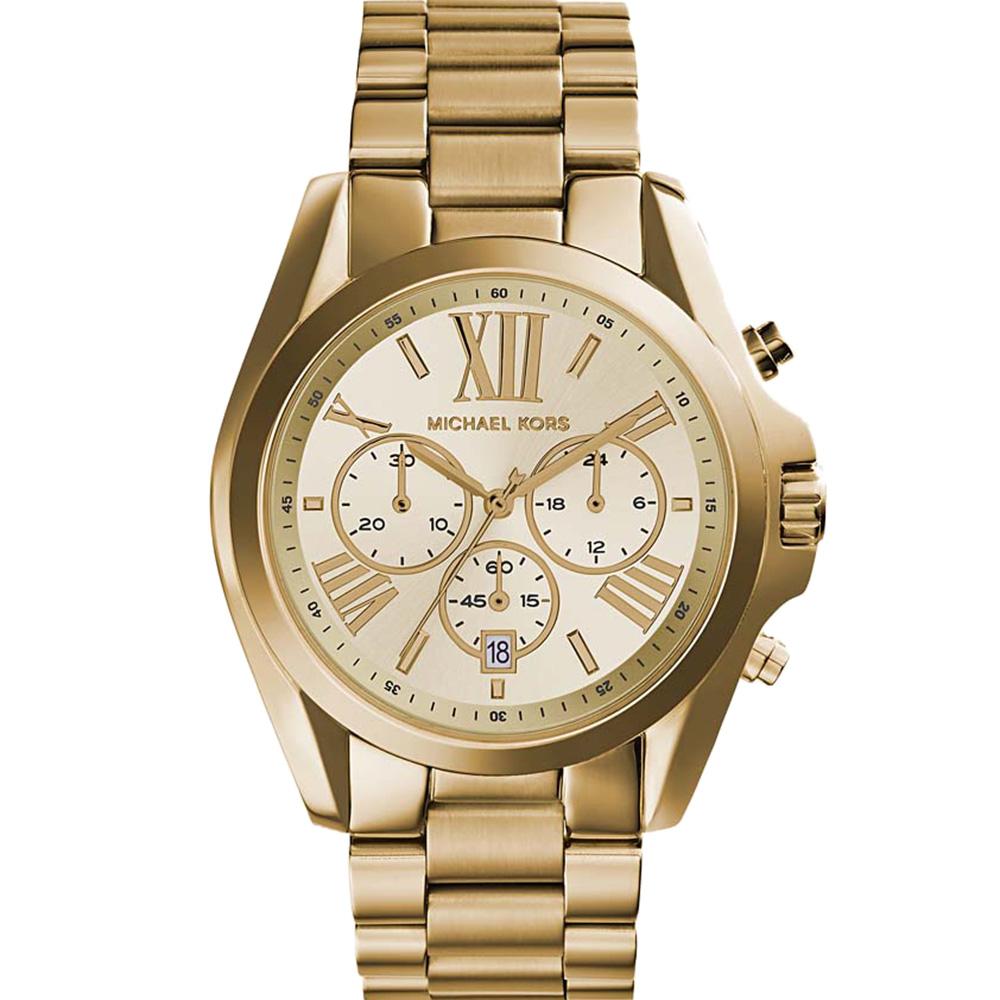 Michael Kors Bradshaw Chronograph MK5605 Gold Unisex Watch