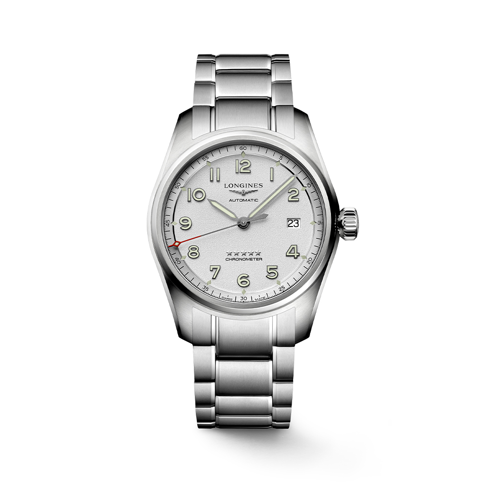 Longines Spirit L38104736 Automatic Chronometer Stainless Steel Mens Watch