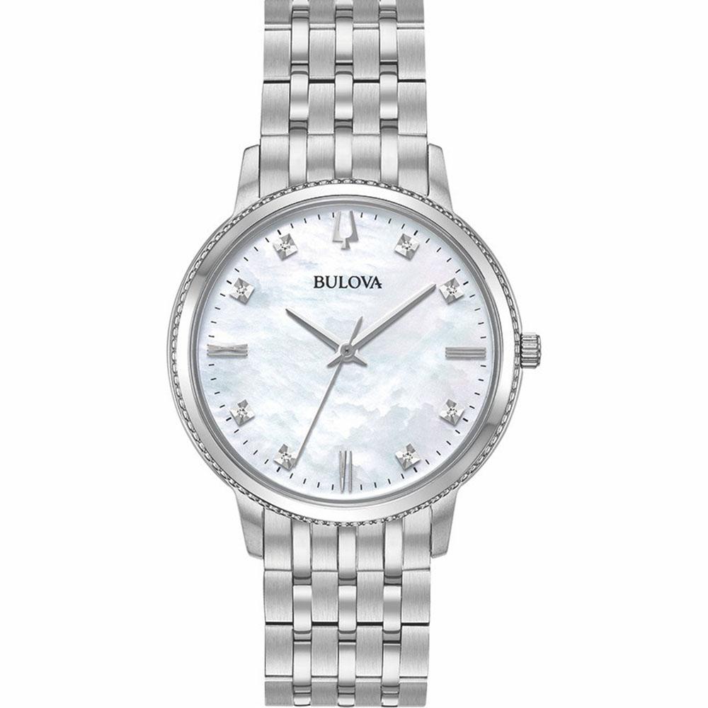 Bulova 96P207 Diamond Quartz Womens Watch