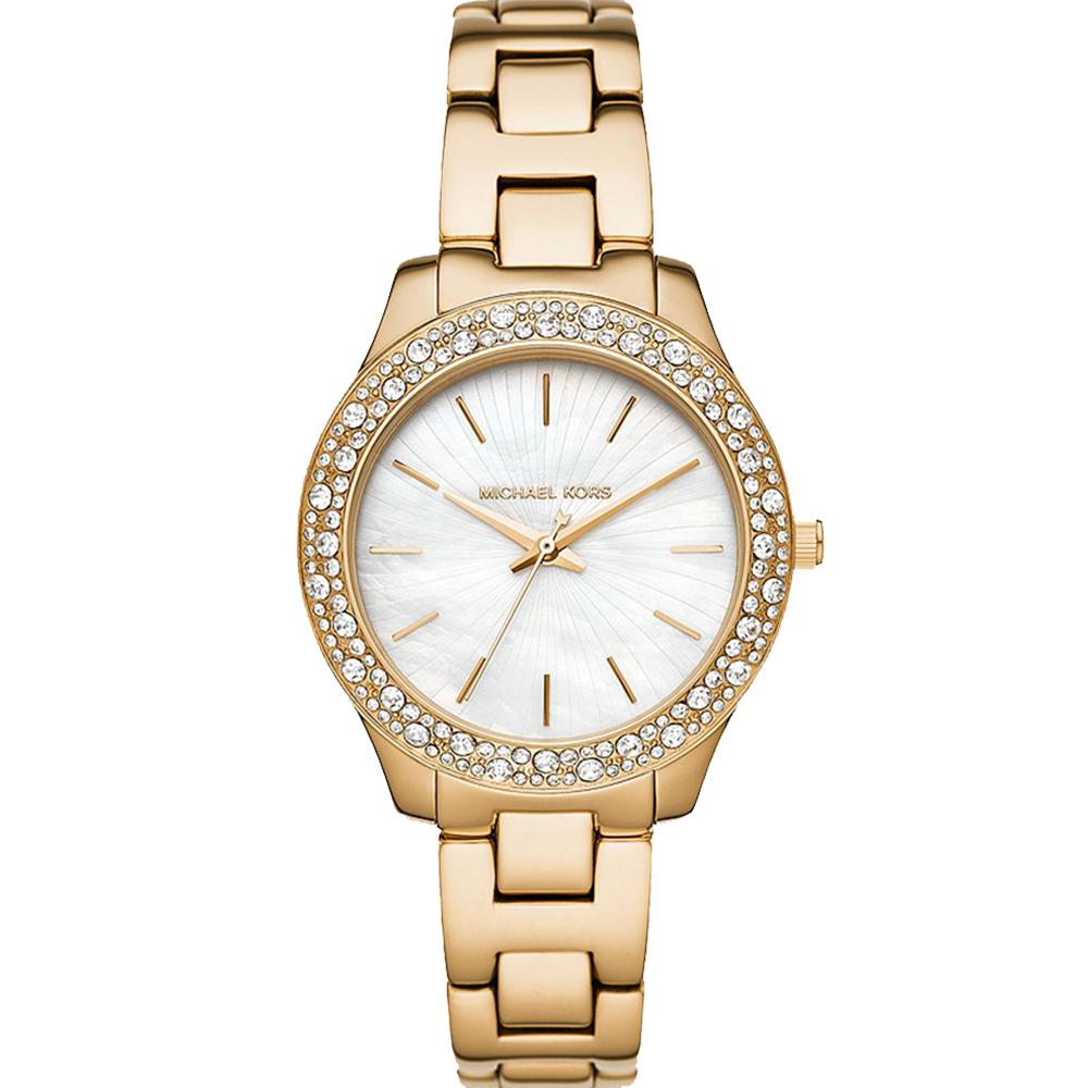 Michael Kors Liliane MK4555 Gold Tone Womens Watch