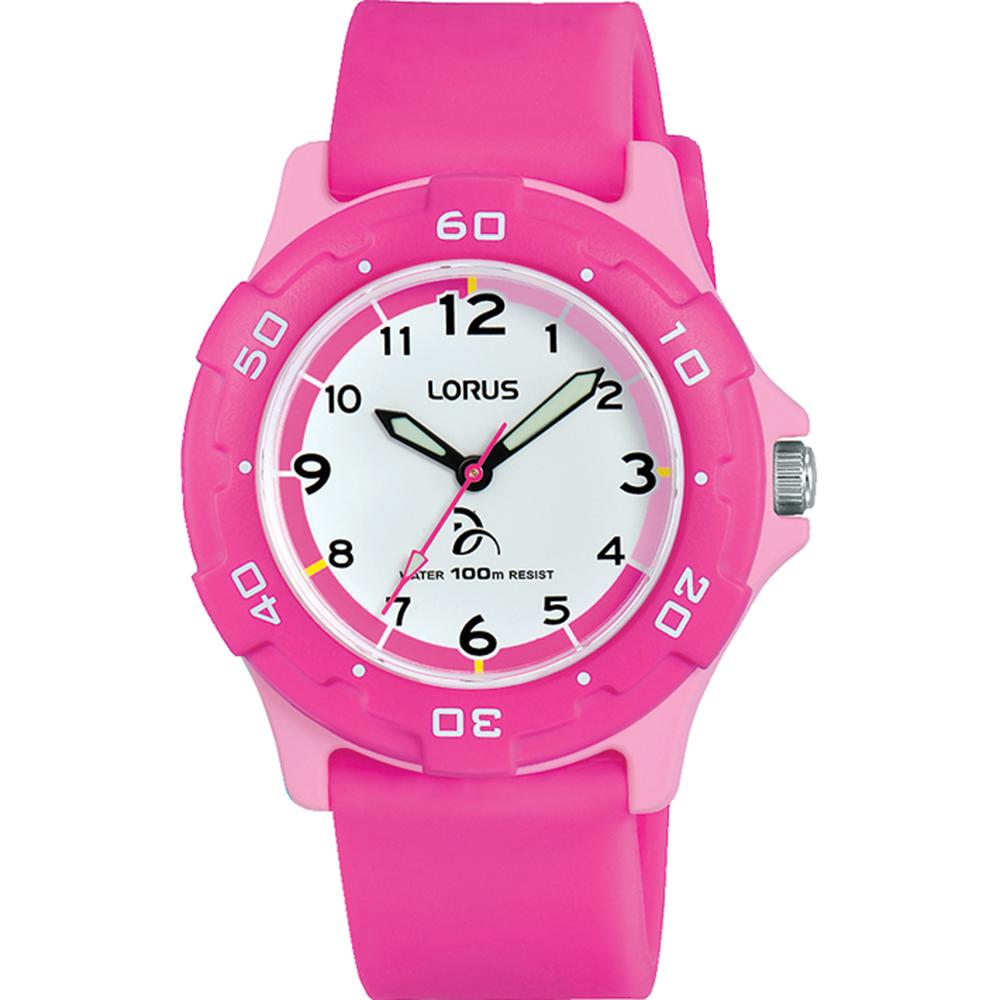Lorus Youth RRX17GX-9 Pink Ladies Watch