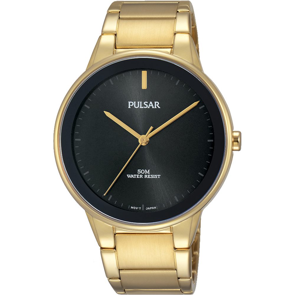 Pulsar PG2046X Gold Plated Men's Watch