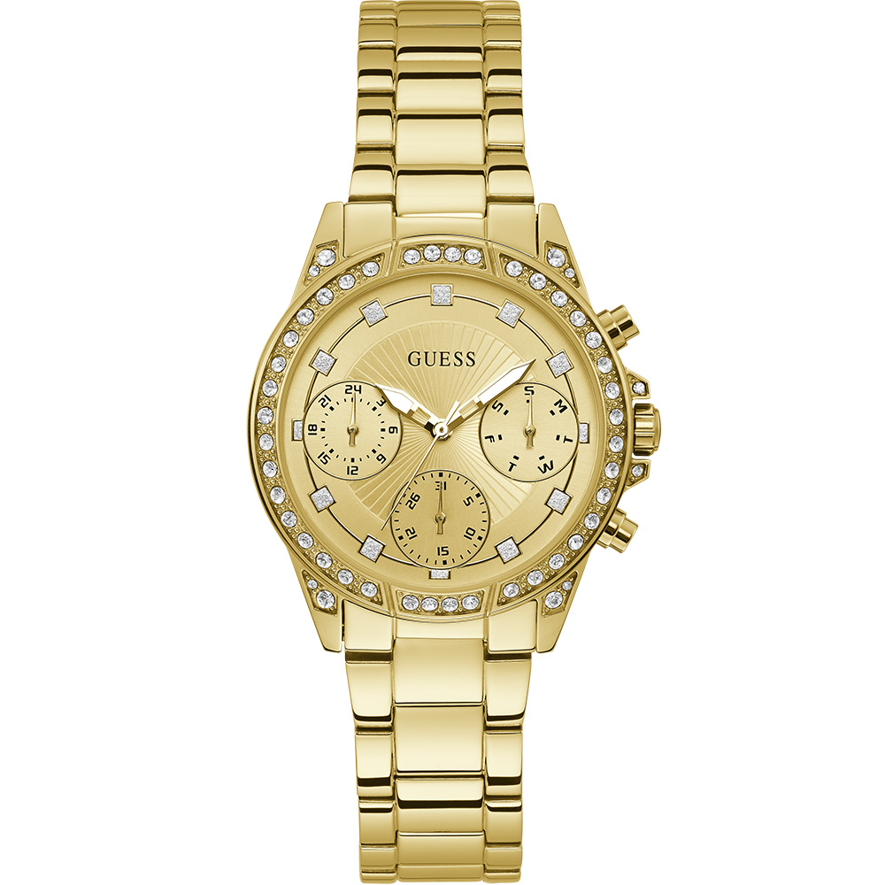 Guess gemini W1293L2 Gold Tone Chronograph Womens Watch