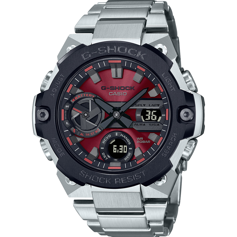 G-Shock GSTB400AD-1A4 G-Steel Carbon Core Guard Structure