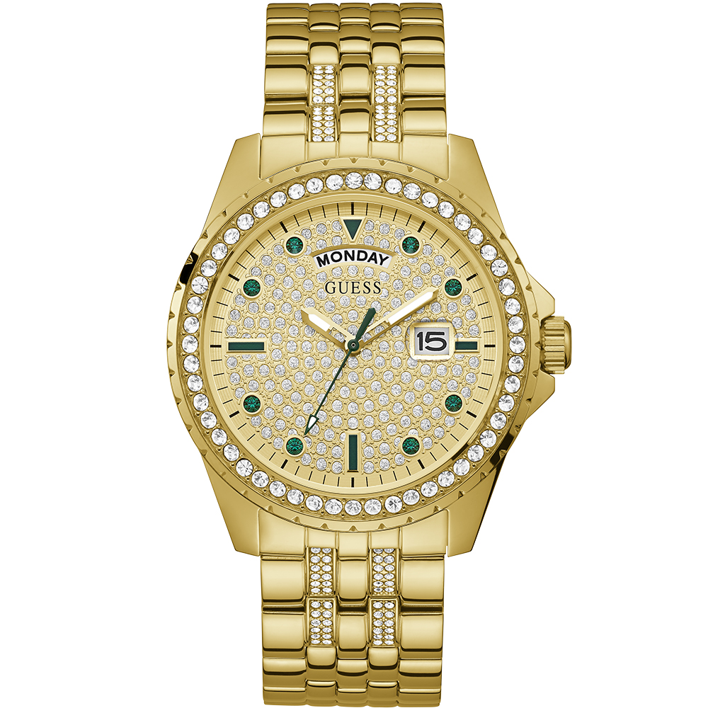 Guess GW0218G2 Comet Glitz Gold Tone Watch