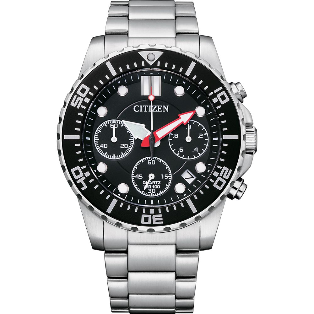 Citizen AI5000-84E Chronograph Stainless Steel Mens Watch