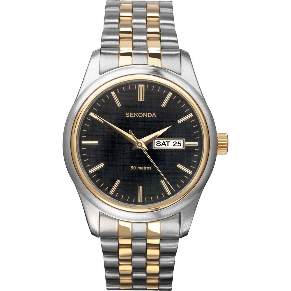 Sekonda SK1002 Two Tone Mens Watch